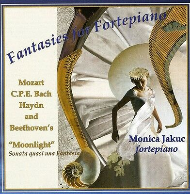 Monica Jakuc - Fantasies for Fortepiano [New CD]