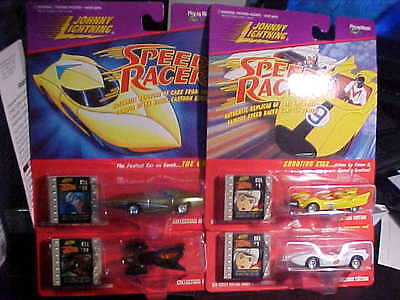 Johnny Lightning Speed Racer Collectors Edition Set Of 4 Mach 5 Grx Assassin