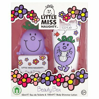 Little Miss Naughty . Beauty Box Gift Set. Girls Eau de Toilette and Body Lotion