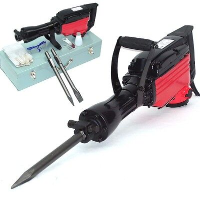 POWER TOOL HAMMER DEMOLITION BREAKER 1850W Impact Concrete Breaker