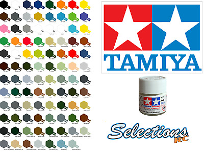 Mini Acrylic X Paints Acrylic Paint 10ml Available In Several Colours Tamiya