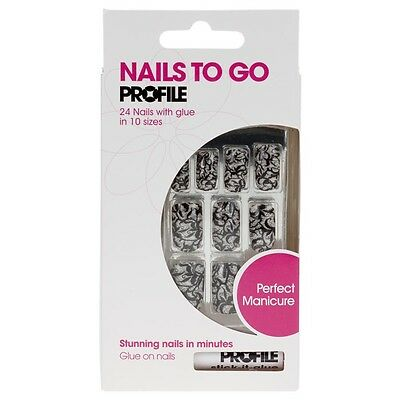 Nails To Go Faux Ongles - Dentelle