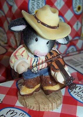 NEW Mary's Moo Moos You Put a Song in Moo Heart Cow Fiddler Cowboy 484865