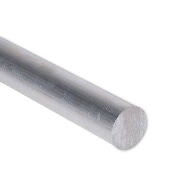"7/8"" Diameter 6061 Aluminum Round Rod 12"" Length T6511 Extruded 0.875 inch Dia"