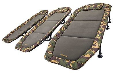 Wychwood Camouflage Tactical Flatbed Carp Fishing Bedchair - All Sizes