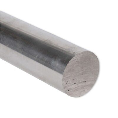 "1-3/4"" Diameter 6061 Aluminum Round Rod 24"" Length T6511 Extruded 1.75 inch Dia"