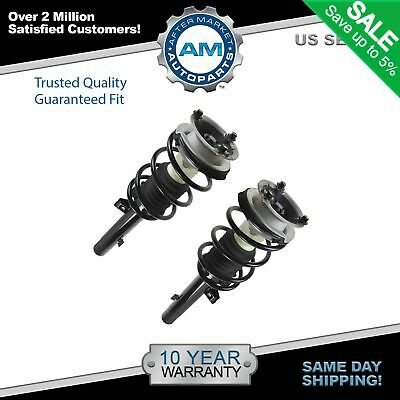 Complete Loaded Shock Strut Spring Assembly Front Pair for BMW E90 RWD New