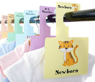 BABY WARDROBE DIVIDERS | Newborn - 2 Years | Organise Baby's Clothes | Safari