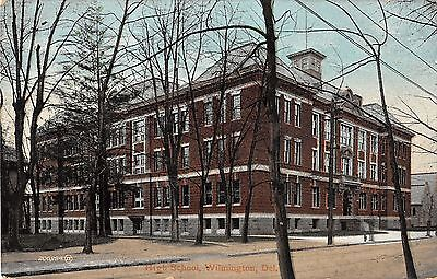 high school wilmington delaware Antique Postcard L3551