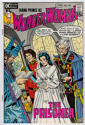 Wonder Woman #194 8.5 Higher Grade Off-White Pages Bronze Age