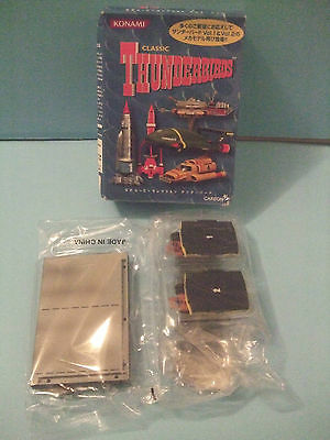 Thunderbirds GERRY ANDERSON Konami The Pod Vehicles Elevator Car #1 & #2 TV SHOW
