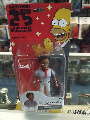 THE Simpsons 25th Anniversary Series 5 LENNY KRAVITZ  ACTION Figures by NECA