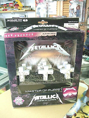 Metallica Master of Puppets 3D ALBUM COVER Pop culture by McFarlane NEW MIB