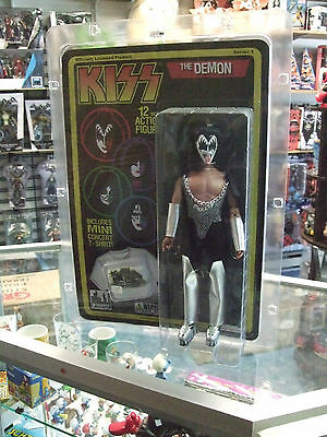 KISS RETRO ACTION FIGURES DOLLS ( Deluxe 12 inches) Gene Simmons The Demon MOC