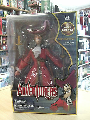 Disney Captain Hook fully poseable action figure 12 inche Disney Store Exclusive