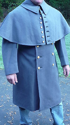 West Point Military Academy dress coat cape long 44 size 1972 USMA cadet store