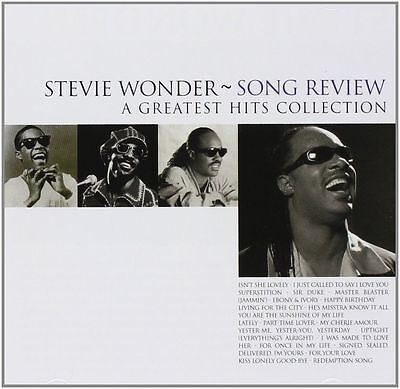 Stevie Wonder SONG REVIEW: A GREATEST HITS COLLECTION Best Of 21 TRACKS New CD