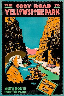 Cody Buffalo Bill 1890s Vintage Style Poster 18x24 Honorable W F