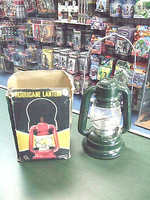 1950s battery operated TIN Toy Railroad Hurricane Lantern by Linemar Japan