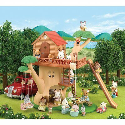 Brand New SYLVANIAN FAMILIES Treehouse 4618
