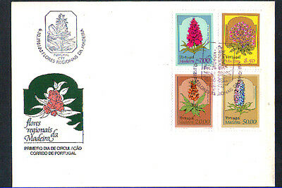 1981 - Lbf/4111 - Madeira - Flora Locale - Busta Fdc
