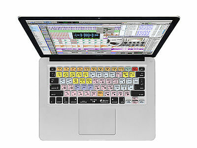 KB Covers Pro Tools key command overlay for Mac Laptops