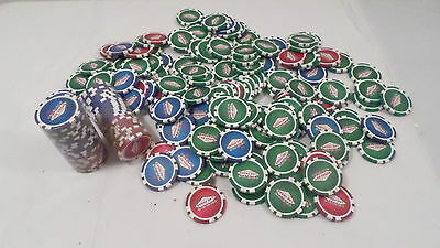 190 Vintage Las Vegas Nevada Casino Chips 50 Still Wrapped (New)
