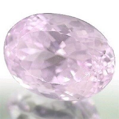Vibrant Bright Lavender Pink KUNZITE Oval Cut 16x11.7mm Valued at US $ 1539.95