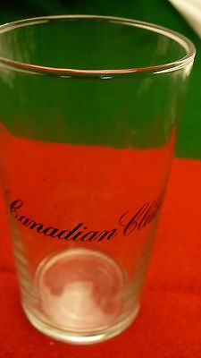 Canadian Club C.C. Rye Whiskey highball cocktail 8 ounce glass