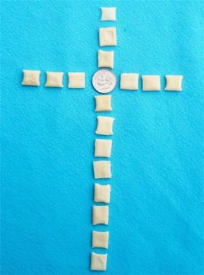 Communion bread 2,000 tiny crispy square wafers made with unbleached wheat flour