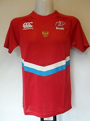 Russia Rugby 2014/15  Home Pro Shirt By Canterbury Adults Size Xxl Brand New
