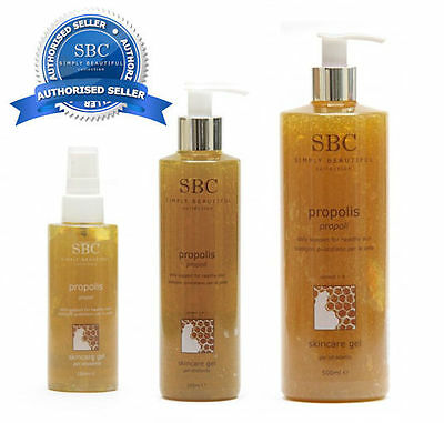 SBC Propolis Skincare Gel CHOOSE SIZE - Official Authorised SBC seller