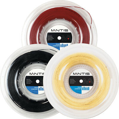Mantis Tour Comfort String 1.30mm / 16 Gauge (200m Roll) 3 Colours rrp£120