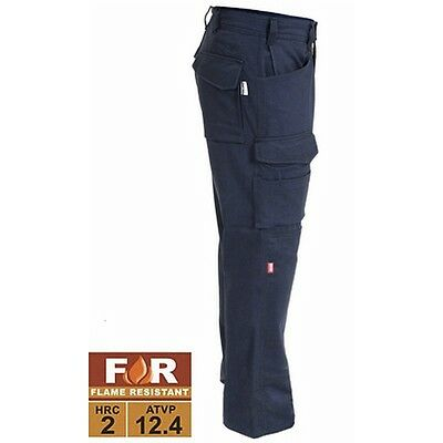 NEW THRIVE Flame Resistant Tactical Knee Pad Work Pants FR 7820 36X34 NAVY