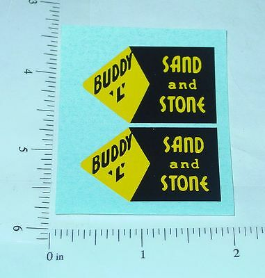 Buddy L Sit N Ride Shovel Replacement Stickers Bl-134 Always Buy Good Diecast & Toy Vehicles