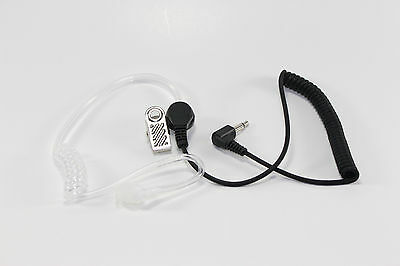 3.5mm Police Listen Only Acoustic Tube Earpiece 1 Pin Radio Headset Top Quality