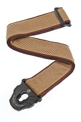 Planet Waves Tweed Guitar Strap 50PLB06 50mm Planet Lock System Ships Free in US