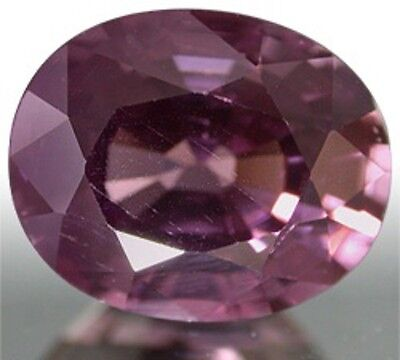 Deep Lavender Pink Natural SPINEL Oval Cut 9.1X7.5 mm 2.77 Ct.
