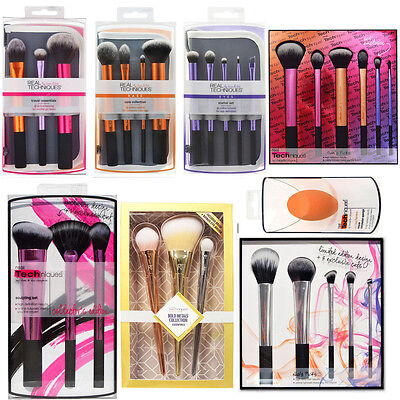 New Real Techniques Makeup Brushes Core Collection/Travel Essentials/Starter