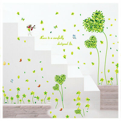 wall sticker wandsticker blumen neu und unbenutzt eur 1 00 picclick de. Black Bedroom Furniture Sets. Home Design Ideas