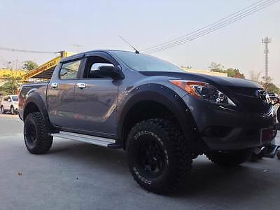 Mazda BT50 2012-2016( FRONT) ABS plastic wide wheel arch/extender/guard/flares