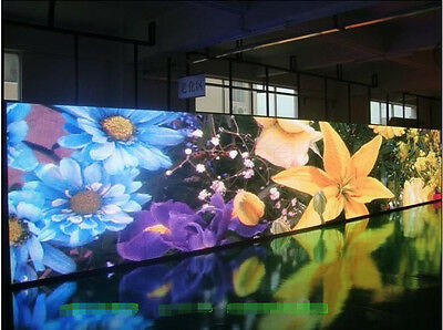 New 3.5mx1.5m P8 RGB Full Color OutDoor LED Sign Display Free Ship By Sea