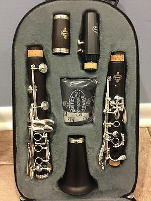NEW BUFFET CRAMPON E12 PERFORMANCE Bb WOOD CLARINET BC2512F-2-0