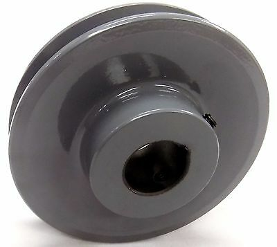 """Ak28 X 7/8 Pulley Single Groove Pulley Sheeve With 7/8"""" Bore-"""