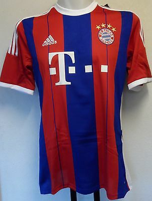 Bayern Munich 2014/15 S/s Home Shirt By Adidas Size Large Brand New With Tags
