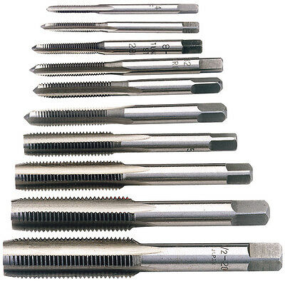 Kit Da Maschi Per Threading Professionale In Pollici 10 Piece Unf Hand Tap Set