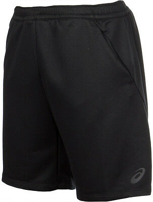 Asics Knit 9 Inch Mens Training Shorts - Black