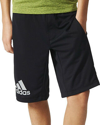 adidas Climachill Junior Training Shorts - Black