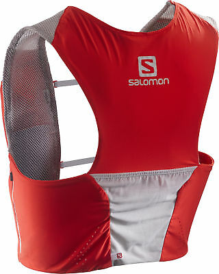 Salomon S-Lab Sense Ultra Set Hydration Backpack - Red