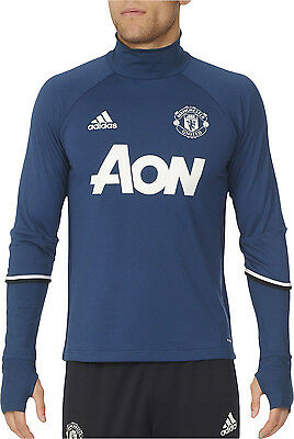adidas Manchester United 2016/17 Mens Long Sleeve Training Top